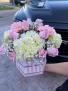 Pretty pink Box  Luxe pink box