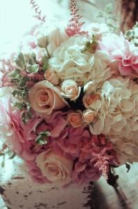 Luxe Pretty Pink Handtied Bouquet