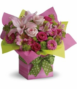 Pretty Pink Present H19