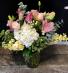 Pretty & Pink Vased Fresh Arrangement