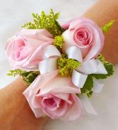 Pretty Pink Wrist Corsage Wrist Corsage