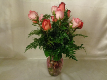 Pretty Pinks Vase Arrangement