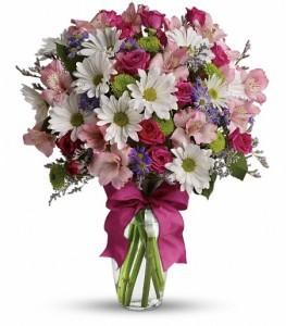 Pretty Please Flowers Vase Arrangement