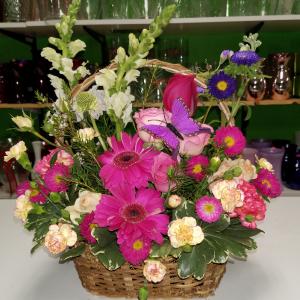 Pretty posy basket basket in Ocala, FL | Artistic Flowers Of Ocala