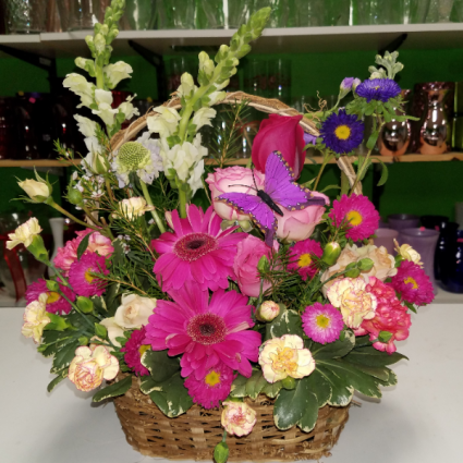 Pretty posy basket basket