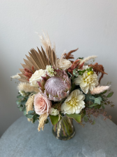 Pretty Protea Bridal Bouquet