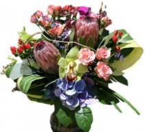 Pretty Protea Arrangement of Flowers