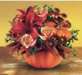 Pretty Pumpkin Fall Centerpiece