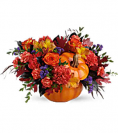 Pretty Pumpkin  Thanksgiving Centerpiece
