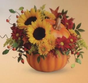 Lovely Pumpkin  in Katy, TX   KD'S FLORIST & GIFTS