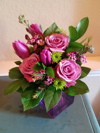 Pretty Purple Arrangement