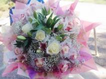 Pretty roses bouquet