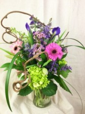 Pretty! Vased Arrangement