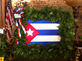 Pride in your Country Funeral wreath