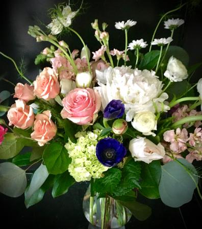 Prim and Lovely Vase arrangement