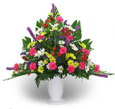 Primary Color Fresh Flower Urn