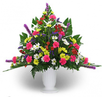 Primary Color Fresh Flower Urn