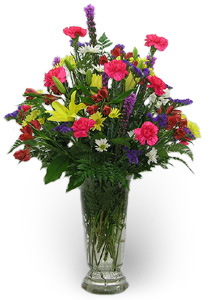 Primary Color Fresh Flower Vase