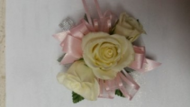 Princess Pink Corsage or Wristlet