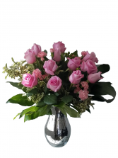 Princess Pink Rose Arrangement