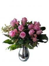 Princess Pink Rose Arrangement