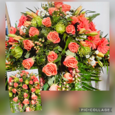 PRINCESS  Z  COLLECTION  Casket Flowers