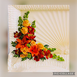 PRINCESS  Z  COLLECTION Casket Flowers in Immokalee, FL | B-HIVE FLOWERS & GIFTS