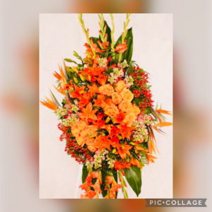 PRINCESS  Z  COLLECTION  Standing Spray in Immokalee, FL | B-HIVE FLOWERS & GIFTS
