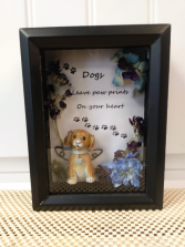 Prints on your heart Gift shadow box