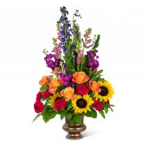 Prismatic Rays Tribute Arrangement
