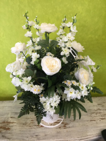 Pristine Silk Arrangement