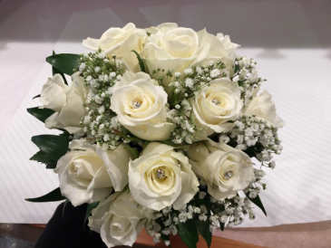 Prom Bouquet-White princess