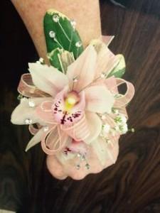Oncidium Orchid Wrist Corsage
