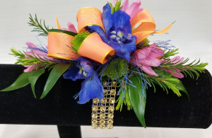 Prom Corsage-bright mix  in Bolivar, MO | The Flower Patch...& More