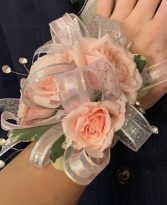 Prom, Dance, Homecoming Wrist Corsage spray roses