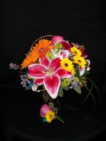 Colorful  Colorful Bridal Bouquet