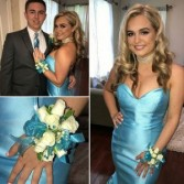 Prom Flowers Wristlet & Boutonniere