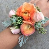 Prom Ranunculus Corsage