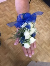Prom Royalty Wristlet Corsage