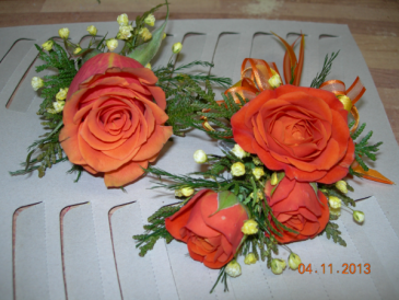 Prom Sets Corsage & Boutonniere