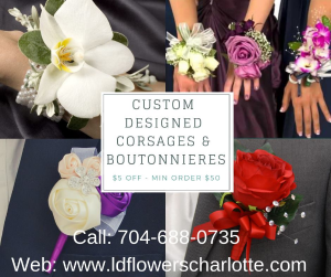 Prom Specials  in Charlotte, NC   L & D FLOWERS OF ELEGANCE