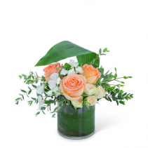 Prosecco Pop Flower Arrangement