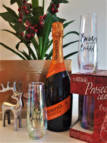PROSECCO WINE GIFT KIT  W/ CHOCOLATES