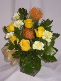 PROSPEROUS VENTURE FLOWERS -   Good Luck Flowers & Roses, Florist Shops Prince George BC