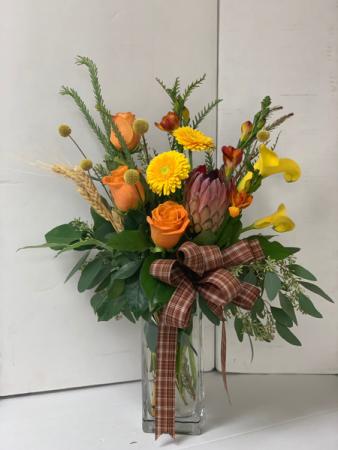Protea bouquet Fall