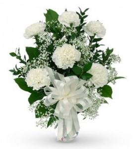 Pure  Peace vase arrangement