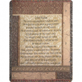 Psalm 23 Inspriational Throw