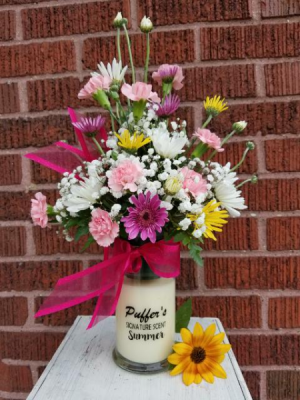 Puffer's Signature Candle Arr local delivery in Elyria, OH | PUFFER'S FLORAL SHOPPE, INC.