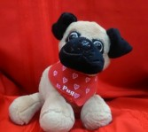 Pug Puppy Plush Animal Gift Item