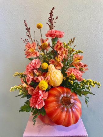 Pumpkin Arrangement Arrangement